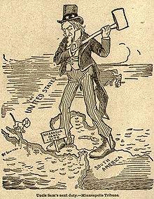 Nicaraguan Canal Cartoon