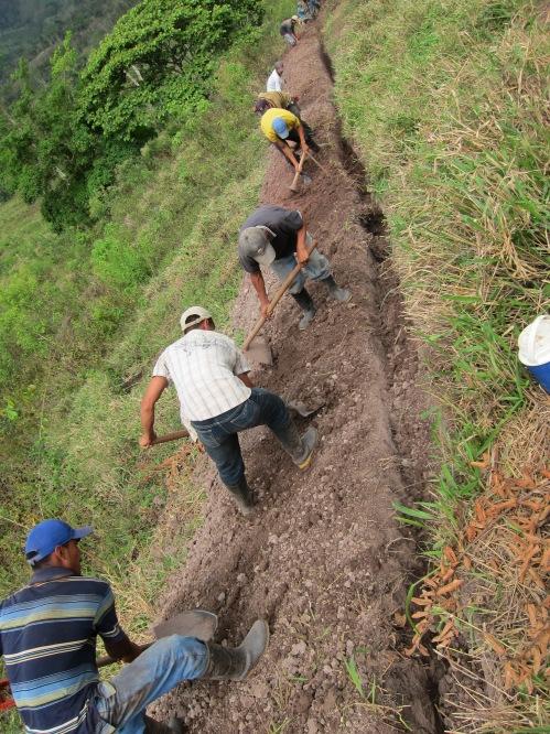 Waslala El Guabo system construction